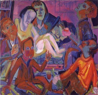 Atelierfest by Hermann Scherer