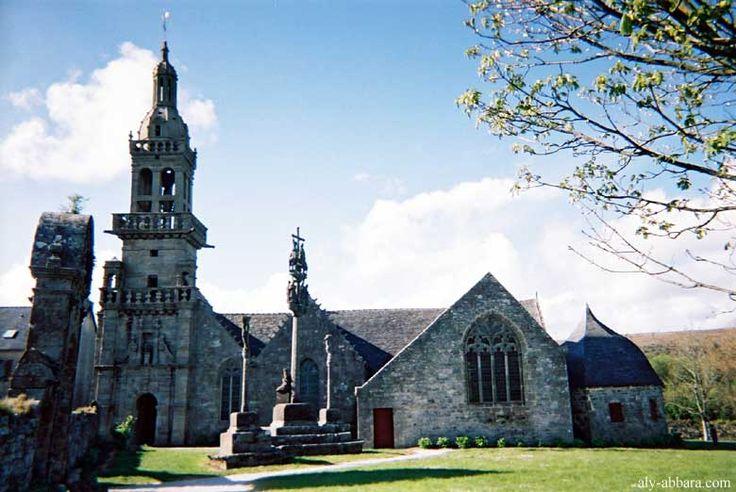 Eglise  de la presque ile de Crozon,  Finistere - Brittany