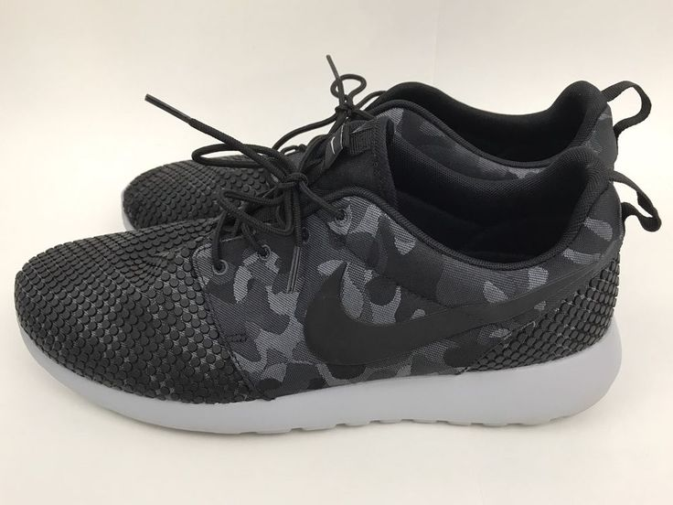 Men's Nike Rose Run Size 12 Black Camo Nubby Toes RARE BU Team Issued | eBay