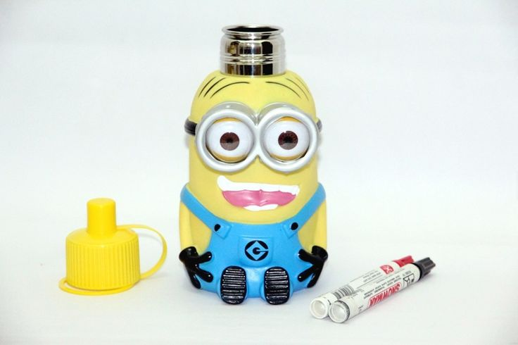 Minion 3d Water Bottle Mata 2 Rp 160.000