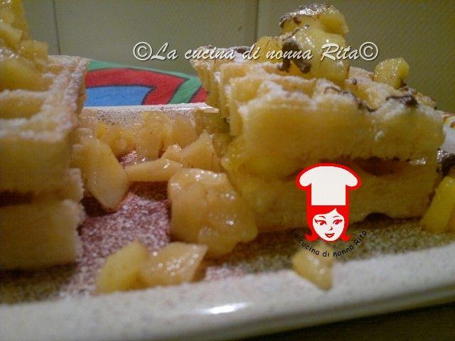 Mini tortine di waffel