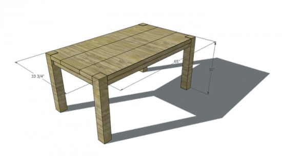 Fine woodworking dining room table plans woodworking for Dining table plans woodworking free