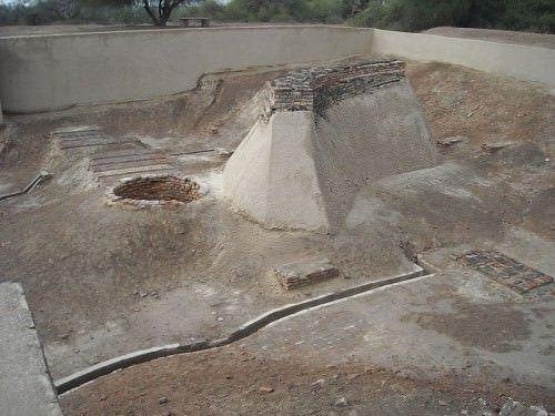 Plate-forme de baignade, Harappa, -2200 -1900 avant J.C.