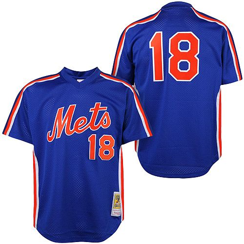 New York Mets Darryl Strawberry Authentic 1987 BP by Mitchell & Ness - MLB.com Shop
