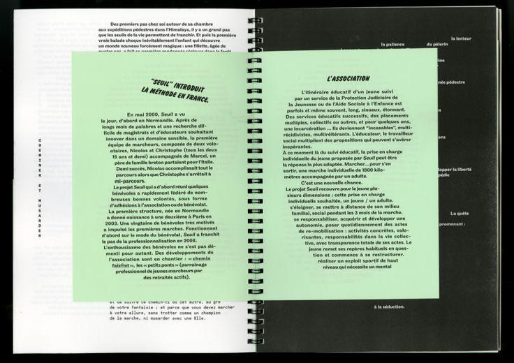 Hors-série de la revue Au-fait.L'acte de marcher comme point de départet manifestede la lenteur.Ligne éditoriale, choix des textes,conception, maquette et mise en page.(+) cliquez ici