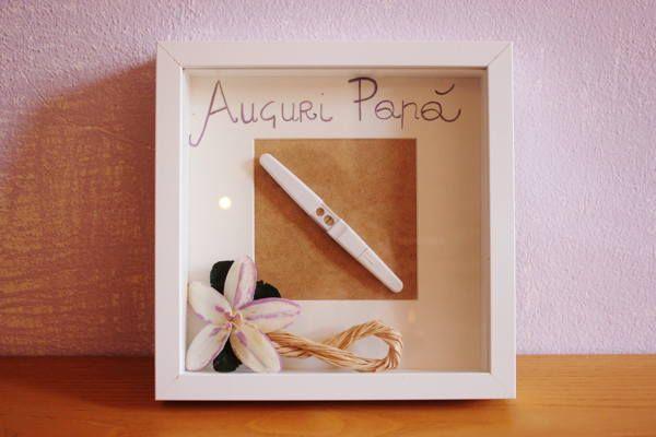 Idea regalo per la festa del Papà, realizza da sola una sorpresa con il test di gravidanza   Mammarisparmio, risparmiare il mio mestiere