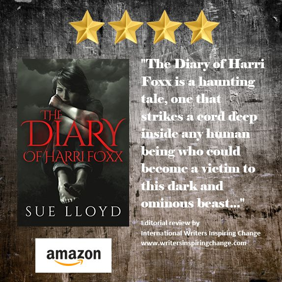 Get your copy HERE Read more about The Diary of Harri Foxx HERE