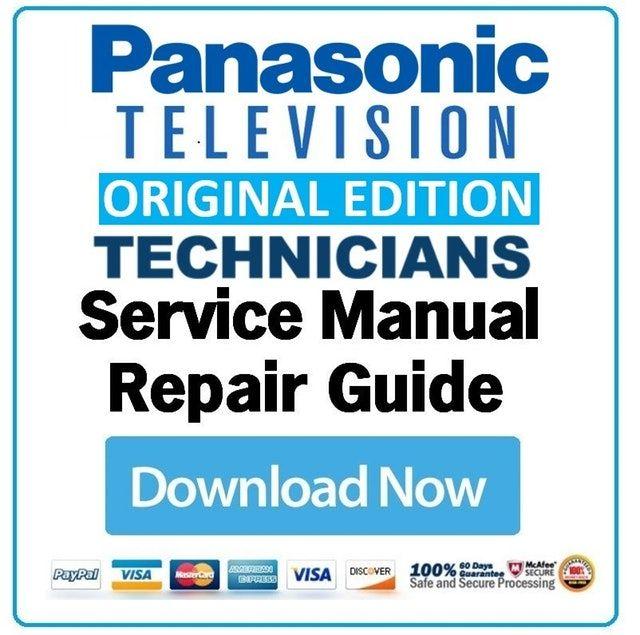 Manual Tv Panasonic Plasma