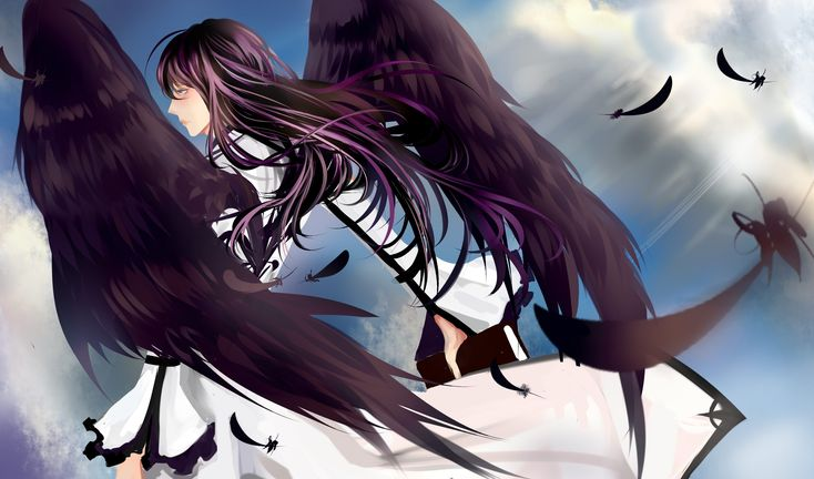 Anime Boy with Wings | ... anime boys white dress Kamui ...