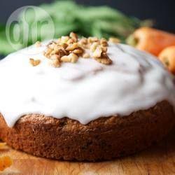 Egg-free carrot cake