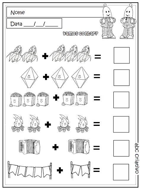 Matemática 4 e 5 anos - Coleção ABC criativo