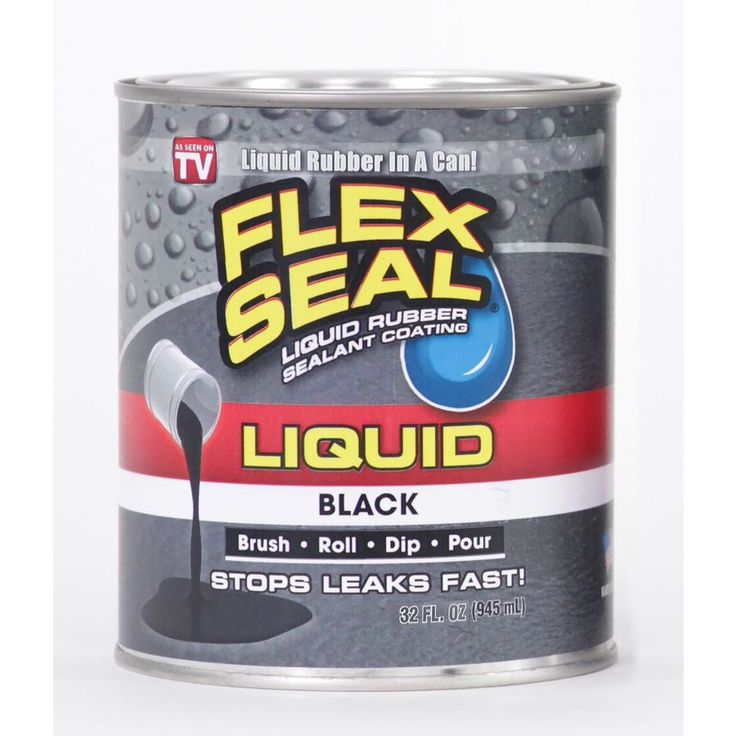 Flex Seal Liquid 128fl oz Black Dip Rubberized Coating