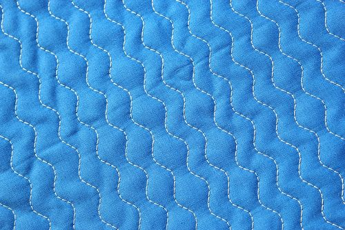 Zig zag stitch and other walking foot quilting .