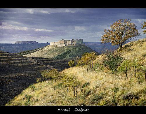 """""""El castillo del Cid"""".   JADRAQUE  2 (GUADALAJARA)"""