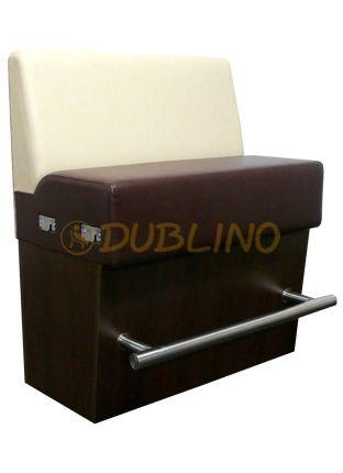 Dublino System/23/120 - Čalouněná lavice v šířce 120 cm. v případě jejího zkrácení li to možné cena zůstává jako při 120 cm.