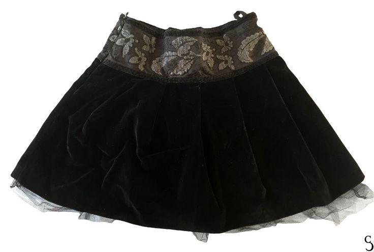 Lapin House Black Skirt / Jupe _ Size 5 years / 5 ans #LapinHouse #Dressy