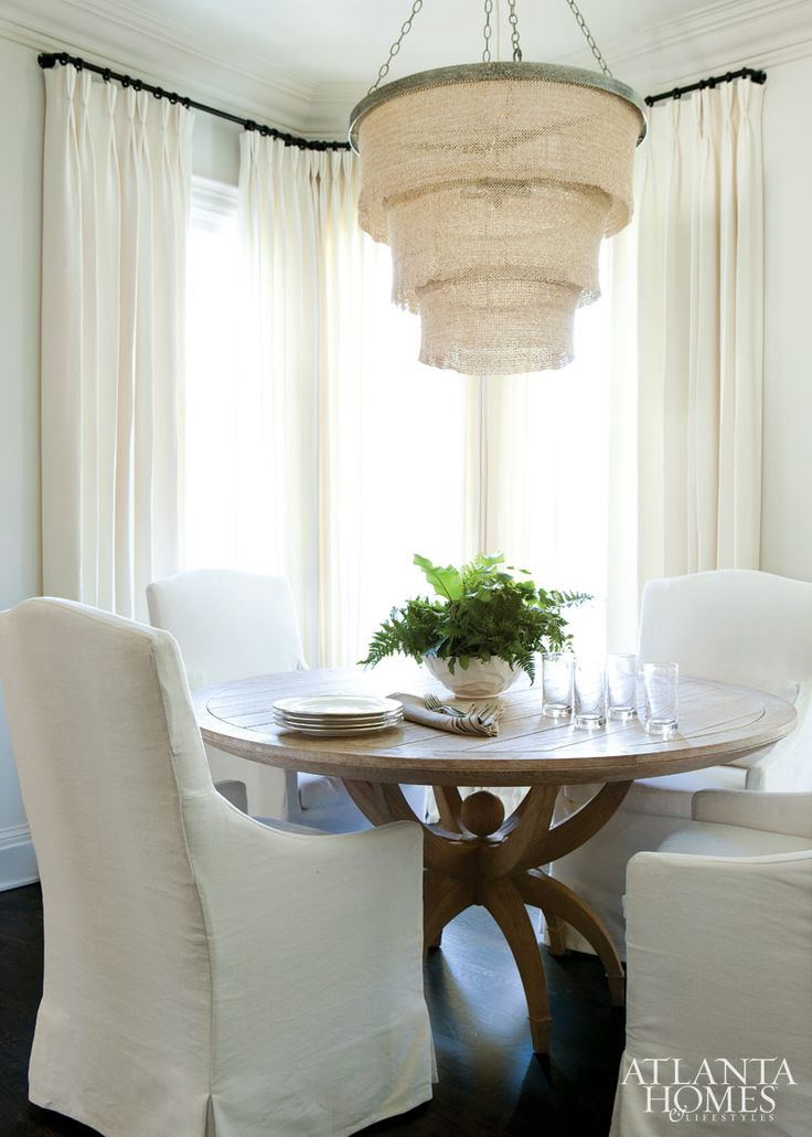 Wood Bead Chandelier For Dining Room