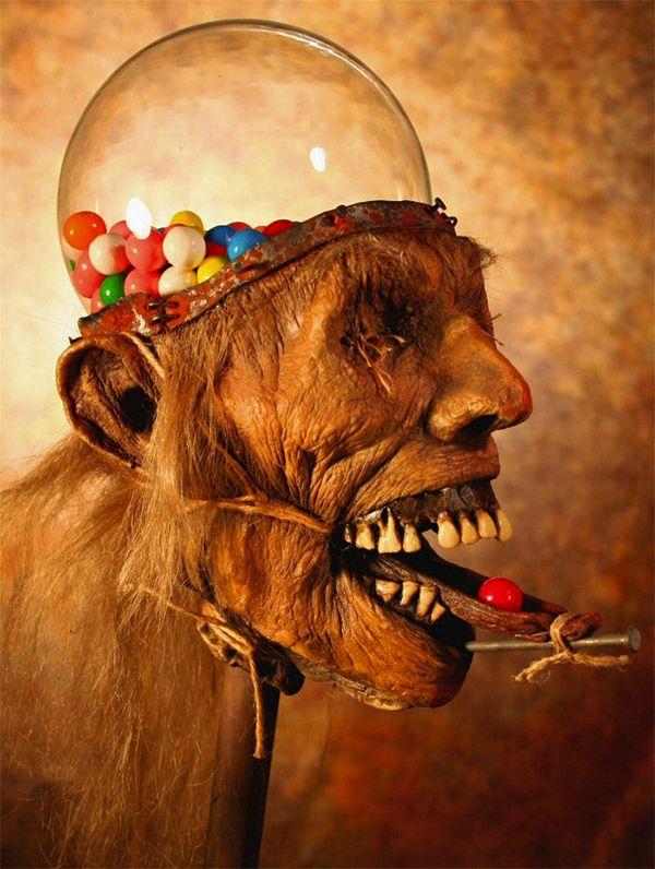 Zombie Head Gumball