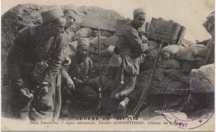 WWI, at the old German lline