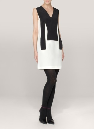 3.1 Phillip Lim - Sleeveless two-tone silk dress | Multi-colour Work Dresses