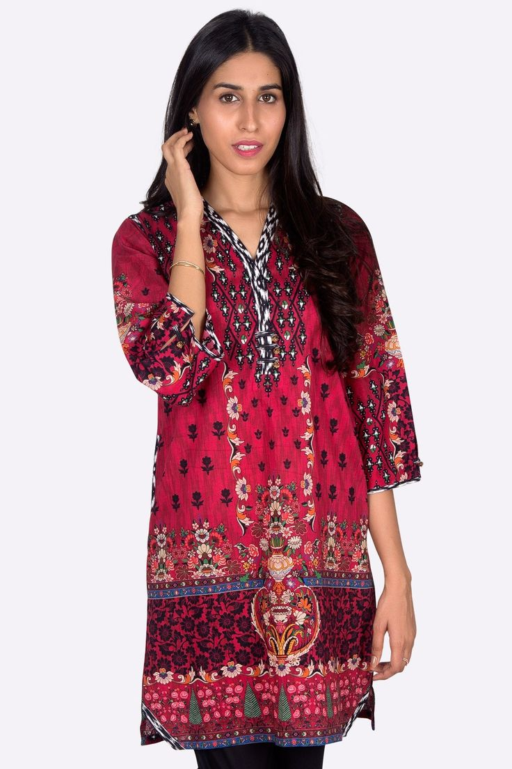 Cardinal Color Ready To Wear Pret Wear Pakistani Cambric Kurti Available For Online Shopping By By Zeen Cambridge Pre Fall Cambric Collection 2017 #wintercollection  #blackfriday #readytowear #pretwear  #unstitched #online  #linen #linencollection  #lahore #karachi #islamabad #newyork #london  #pakistan #pakistani #indian #alkaram #breakout #zeen  #khaadi #sanasafinaz #limelight #nishat #khaddar #daraz #gulahmed #2017 #2018  #blackfriday #pakistani_dresses #best_price #indian_dresses