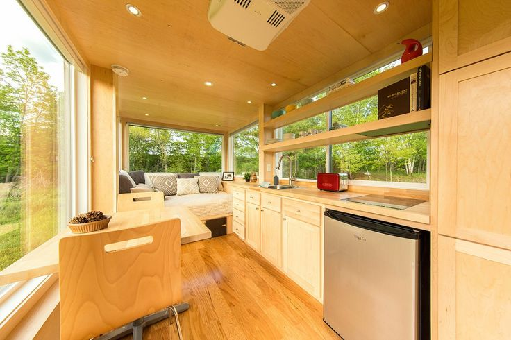 The Escape Vista tiny home features high-end fixtures (photo: Escape homes)