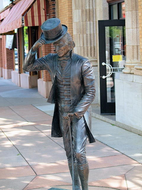 James Monroe Statue, Presidents Tour, Rapid City, South Dakota - 5th President of the United States of America