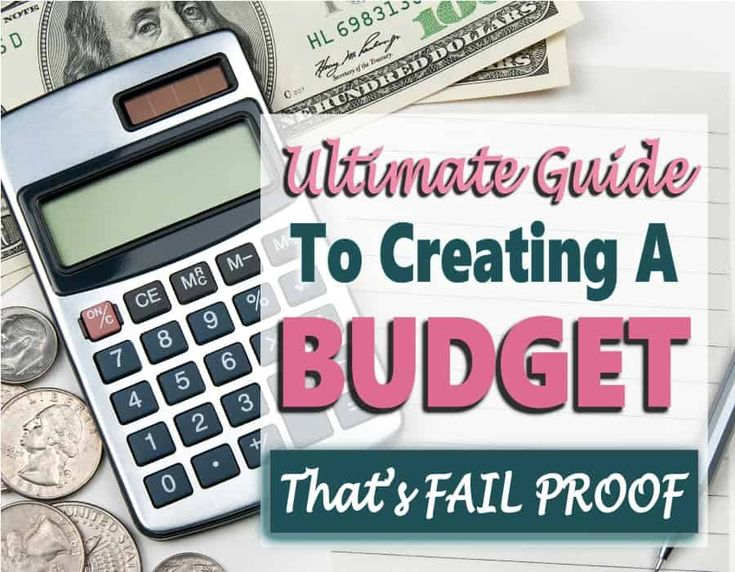 Create A Budget – How To Create a Budget That is Fail-Proof – Frugal living