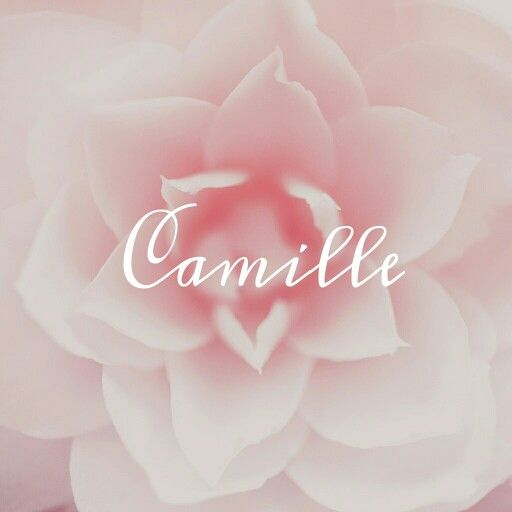 Camille / Latin: youth of unblemished character (pin by Alesha Steen)