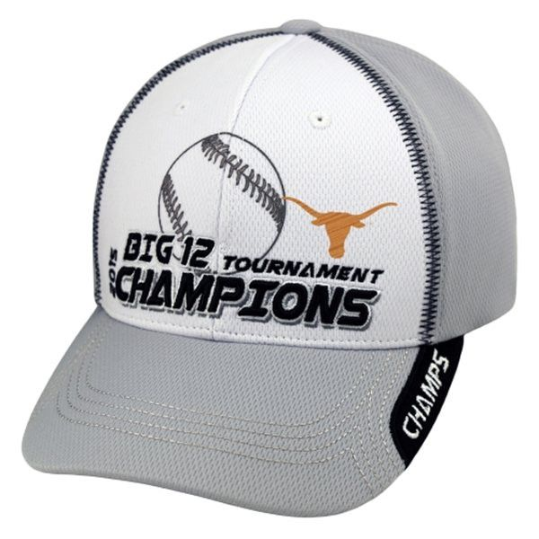 Texas Longhorns 2015 Big 12 Baseball Tournament Champions Locker Room Hat Cap