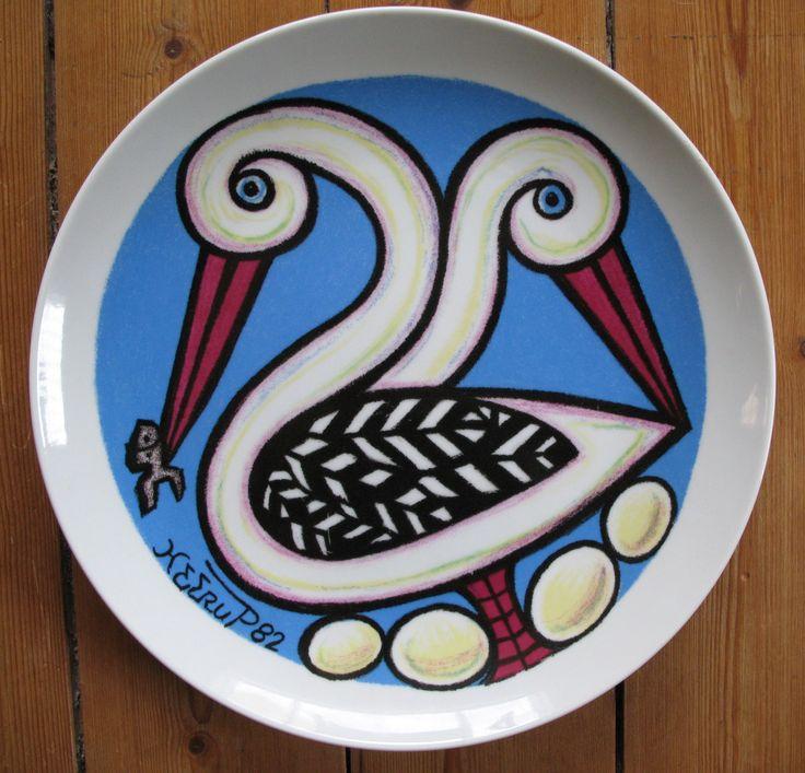 Henry Heerup plate