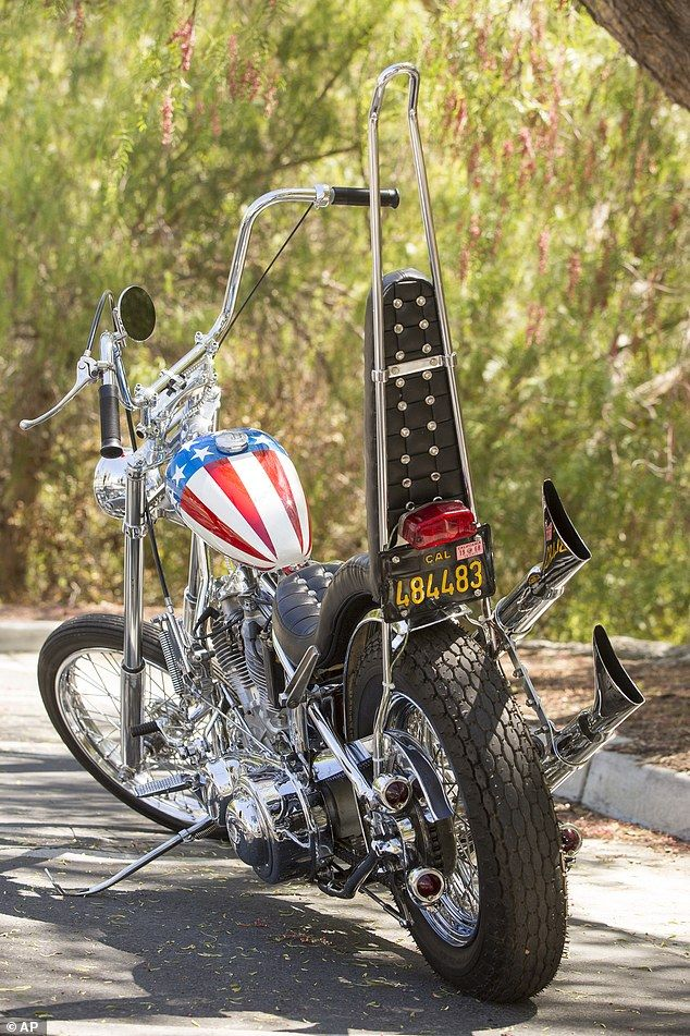 Peter Fonda's Easy Rider Bike For Sale On Auction