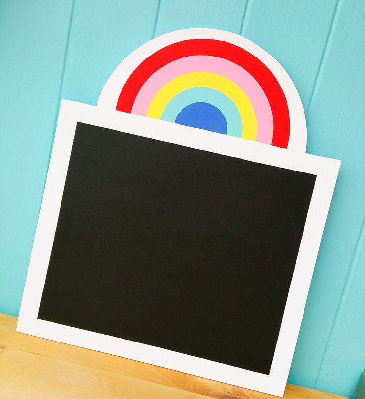 Rainbow Chalkboard