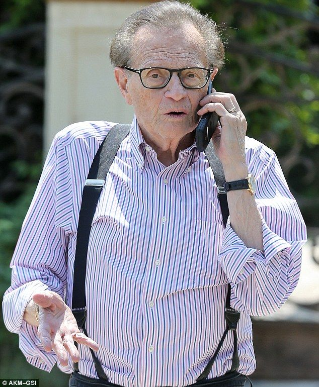 Larry King acting 'like Jekyll and Hyde' over whether to leave wife