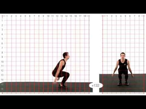 animation Reference - Backflip reference - Grid Overlay - YouTube