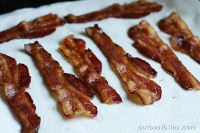 How to cook bacon in the oven. LIKE I needed bacon to be easier to cook and another reason to eat it.