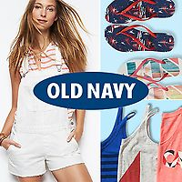 "Up to 50% Off the Old Navy ""Here Comes The Sun Sale"" w/ Extra 30% Off Purchase (Online & Today Only)"