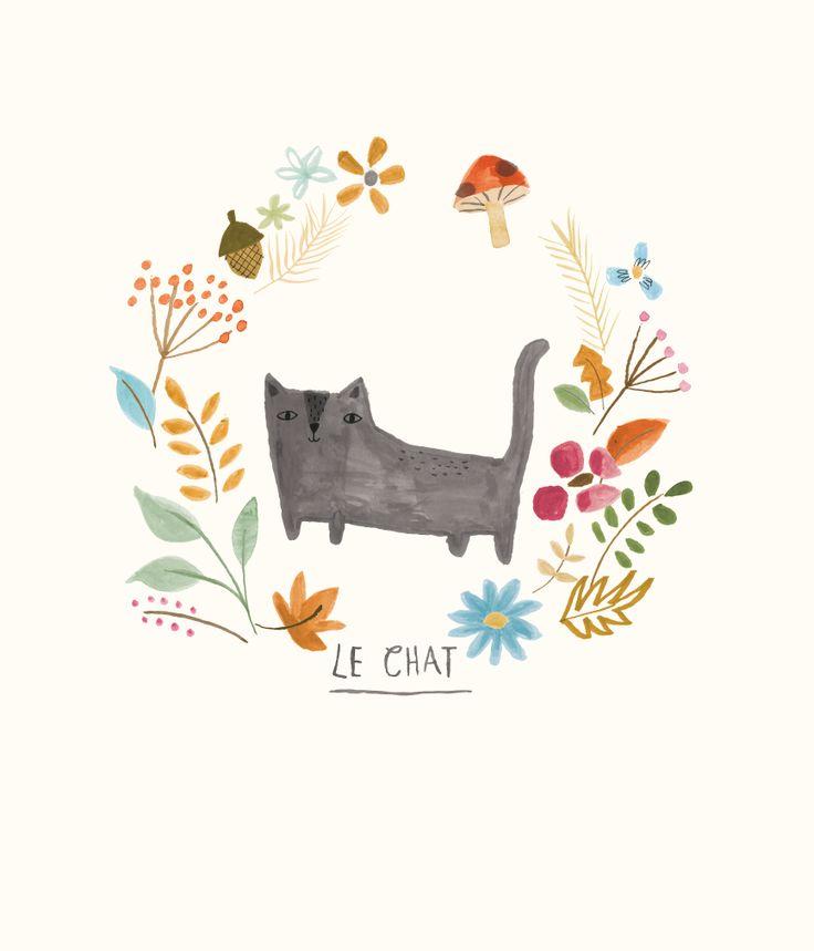 'Le Chat' - Lisa Barlow (Milk & Honey Studio)