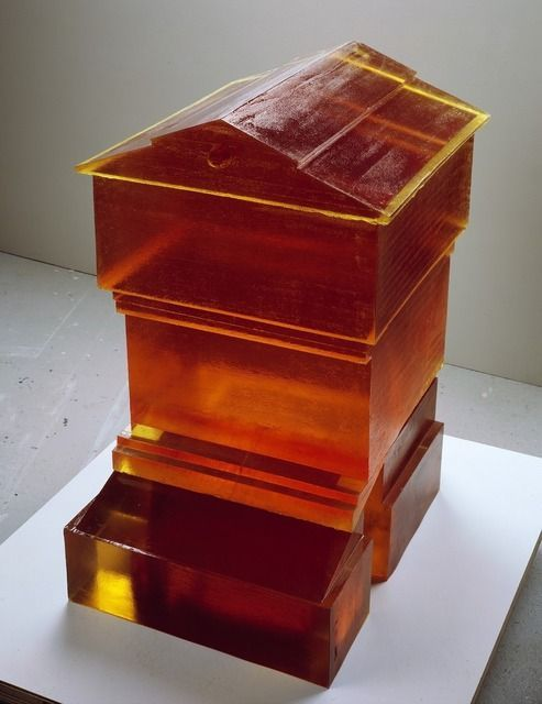 """I wouldn't want to litter every corner of the world with my sculpture...""          -   Rachel Whiteread, Untitled (Hive)                I (2007-08)"