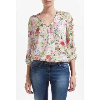 Modelos de Blusas de Seda: Estampada, Branca, com Renda