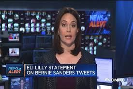 #Media #Oligarchs #MegaBanks vs #Union #Occupy #BLM  [VIDEO] Eli Lilly shares fall on Bernie Sanders tweet   http://www.cnbc.com/2016/11/01/eli-lilly-shares-fall-on-bernie-sanders-tweet.html   Shares of pharmaceutical company Eli Lilly initially fell more than 1 percent after Sen. Bernie Sanders tweeted Tuesday about the price of Lilly's Humalog insulin.  Sanders shared a graphic from a story by The Washington Post that looks at why the price of insulin continues to rise. Eli Lilly's stock…