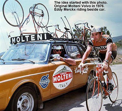Merckx & the Molteni Volvo