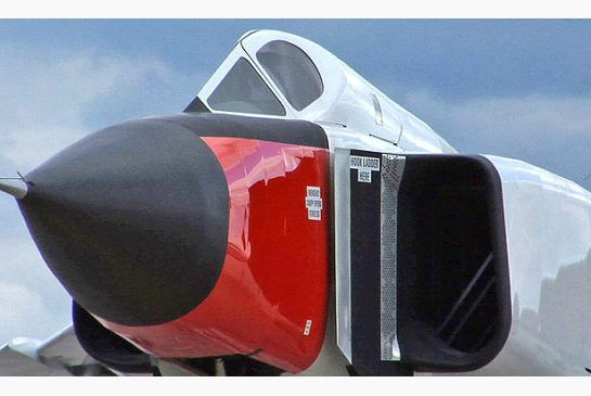 A full-scale metal replica of the Avro Arrow in this Sept. 21, 2006 file photo.