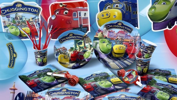 a complete Chuggington party pack! Planning a Chuggington themed birthday? Easy peasy!