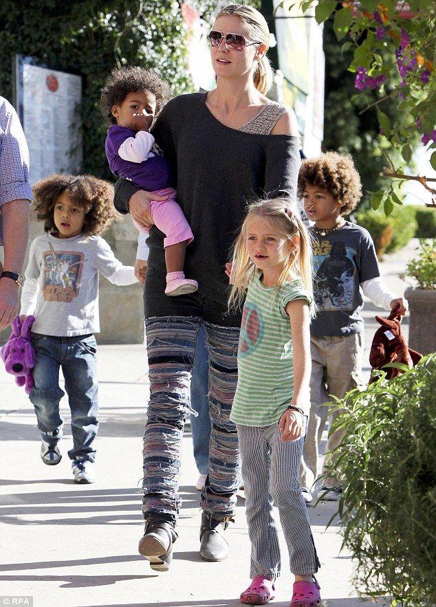Heidi Klum pays her children to eat #Healthy