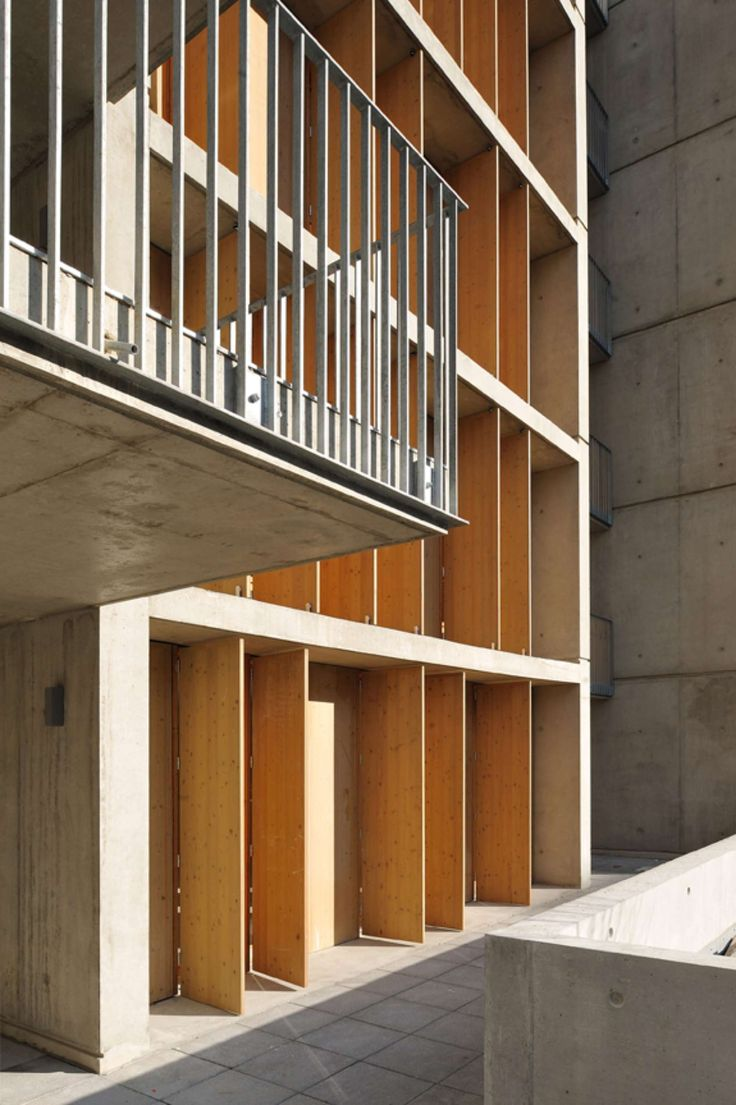 Balcony design ideas in apartment grenoble france home design and - Lyon France Clement Vergely Architectes