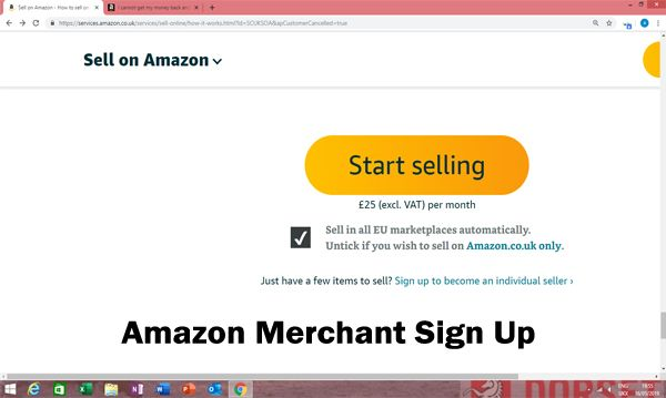 Amazon Merchant Sign Up Can Also Be Known As Amazon Seller Central This Is Another Name For This Service The Amazon Merchant S Amazon Amazon Seller Merchants