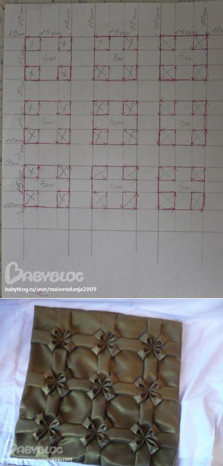 Схема буфы цветы | Буфы .вафли шторы | Postila