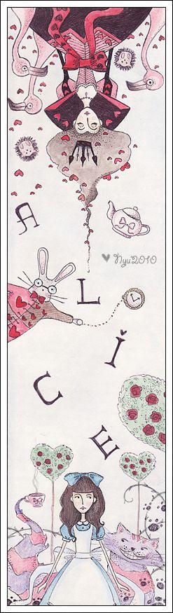 Alice in Wonderland by froilyan.deviantart.com on @deviantART