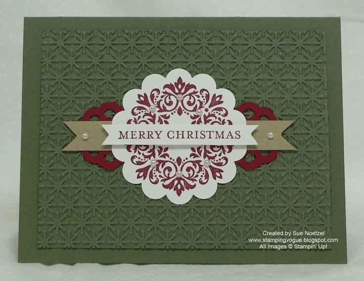 Merry Christmas Snowflake Embossing Folder Craft Ideas